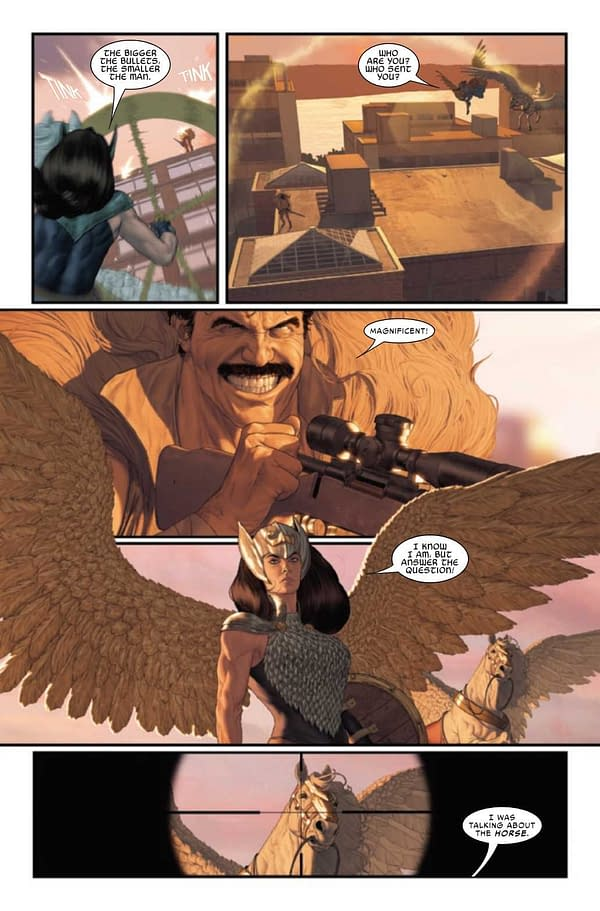 Interior preview page from MIGHTY VALKYRIES #3 (OF 5)