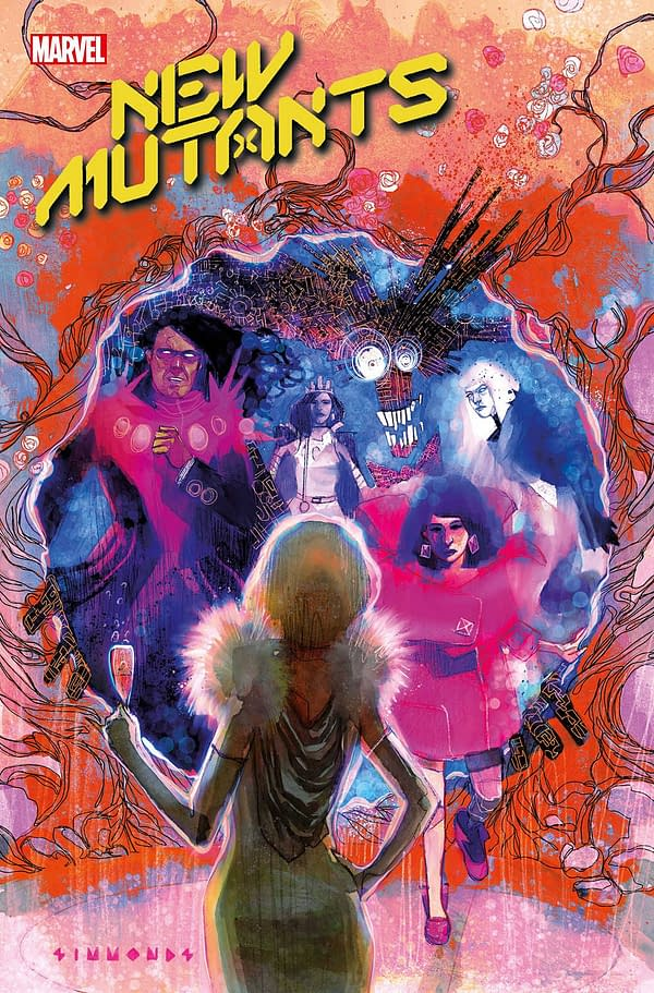 Cover image for NEW MUTANTS #19 GALA
