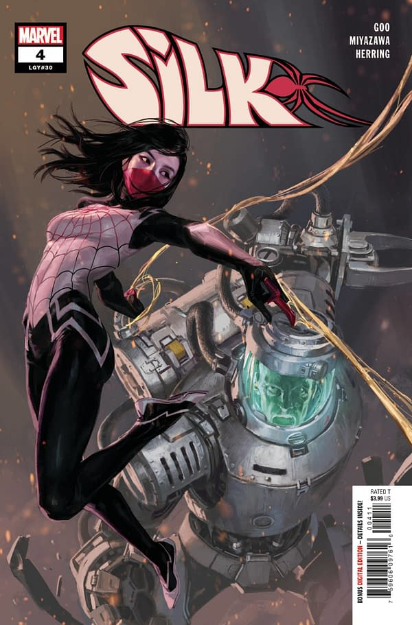 Cover image for SILK #4 (OF 5)