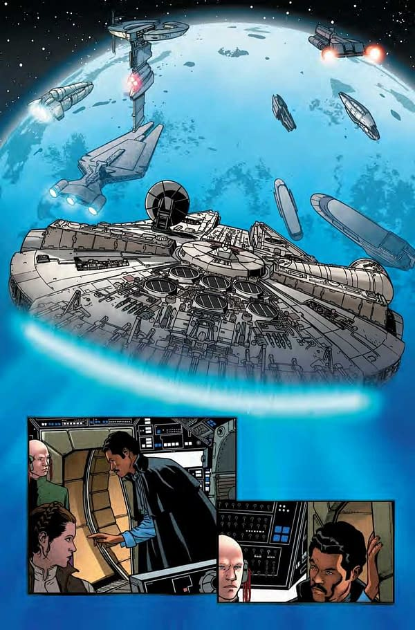 Interior preview page from STAR WARS #14 WOBH