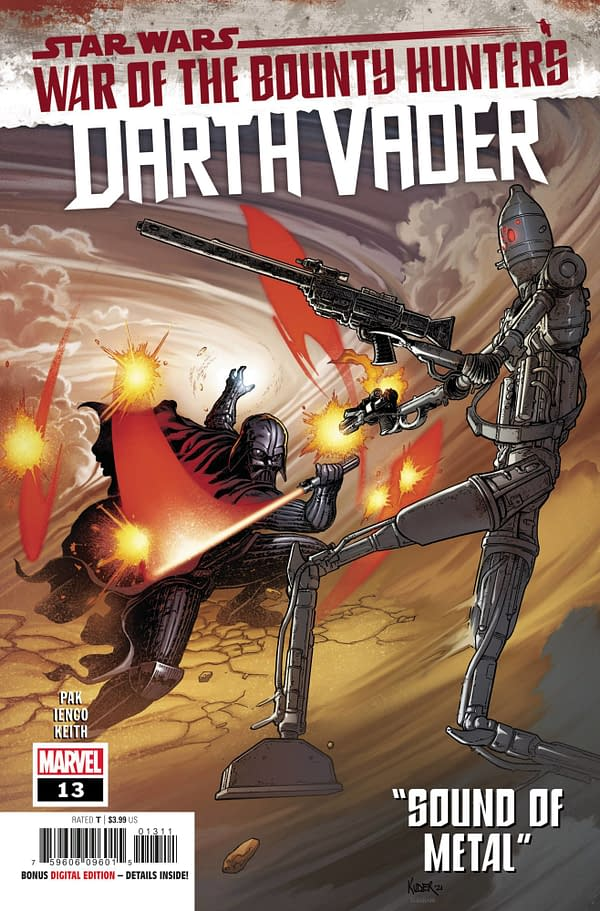 Cover image for STAR WARS DARTH VADER #13 WOBH