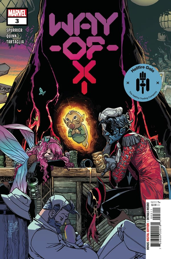 Cover image for WAY OF X #3 GALA