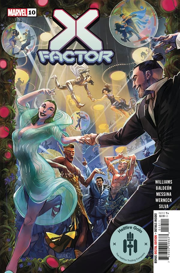 Cover image for X-FACTOR #10 GALA