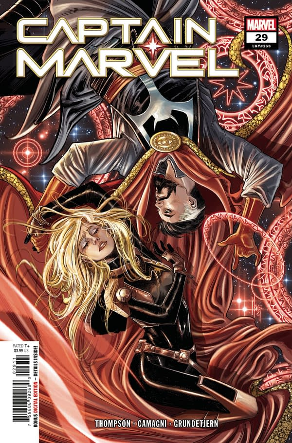 Cover image for CAPTAIN MARVEL #29
