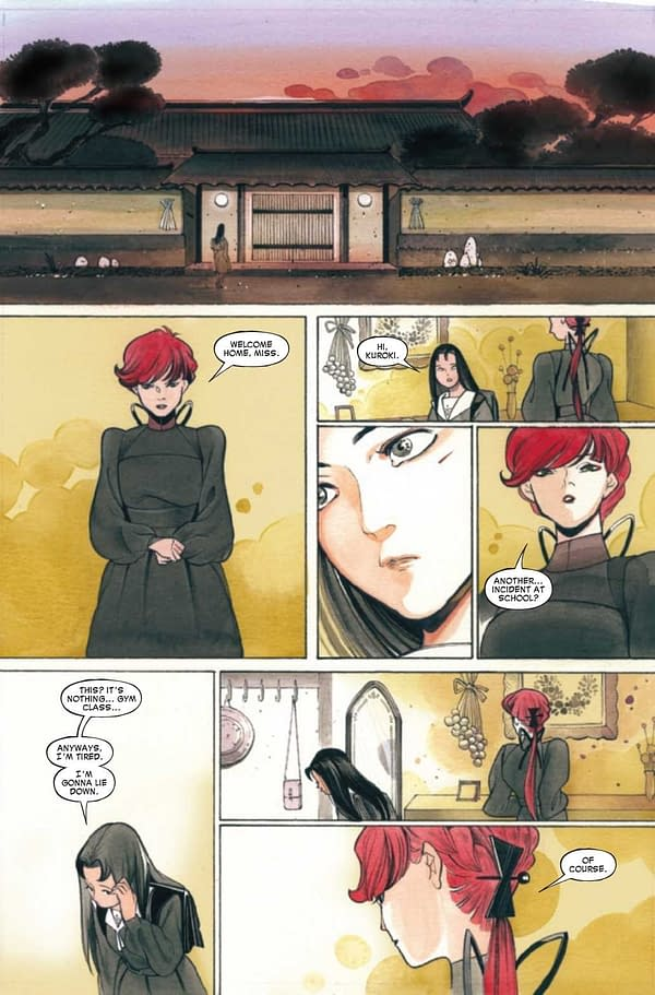 Interior preview page from DEMON DAYS MARIKO #1