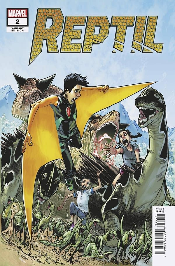 Cover image for REPTIL #2 (OF 4) RAMOS VAR