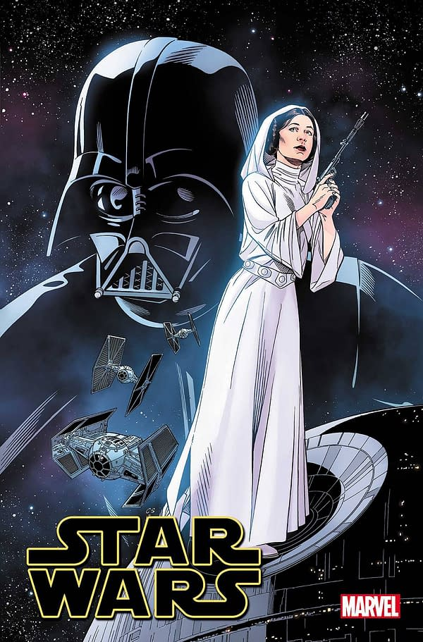 Cover image for STAR WARS #14 SPROUSE LUCASFILM 50TH VAR