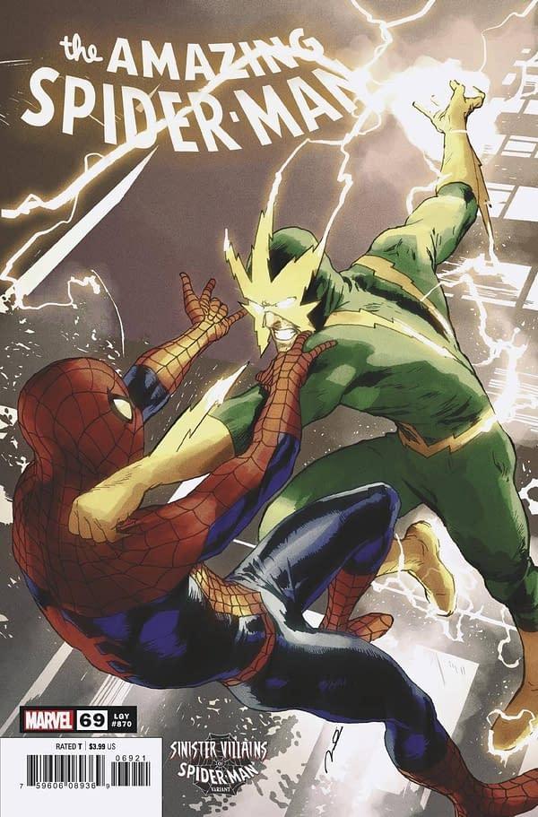Cover image for AMAZING SPIDER-MAN #69 PAREL SPIDER-MAN VILLAINS VAR