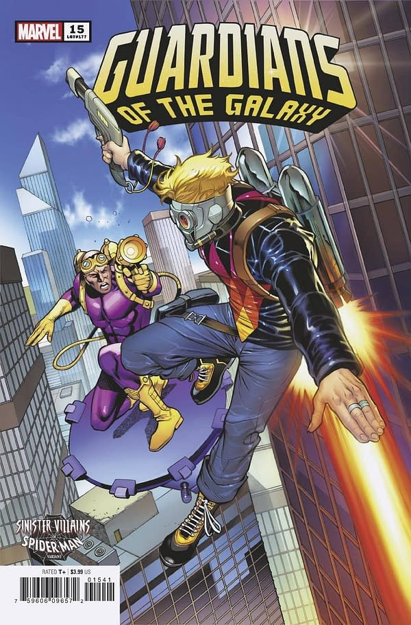 Cover image for GUARDIANS OF THE GALAXY #15 PACHECO SPIDER-MAN VILLAINS VAR