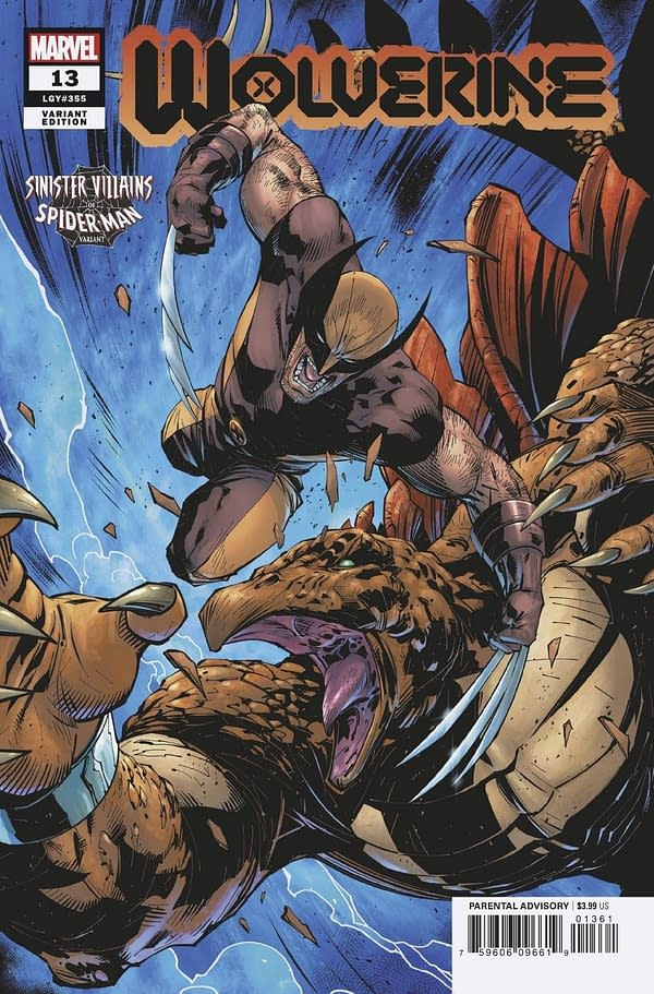 Cover image for WOLVERINE #13 BENJAMIN SPIDER-MAN VILLAINS VAR GALA