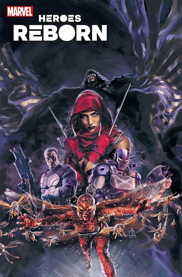 Cover image for HEROES REBORN SQUADRON SAVAGE #1 BLATT VAR