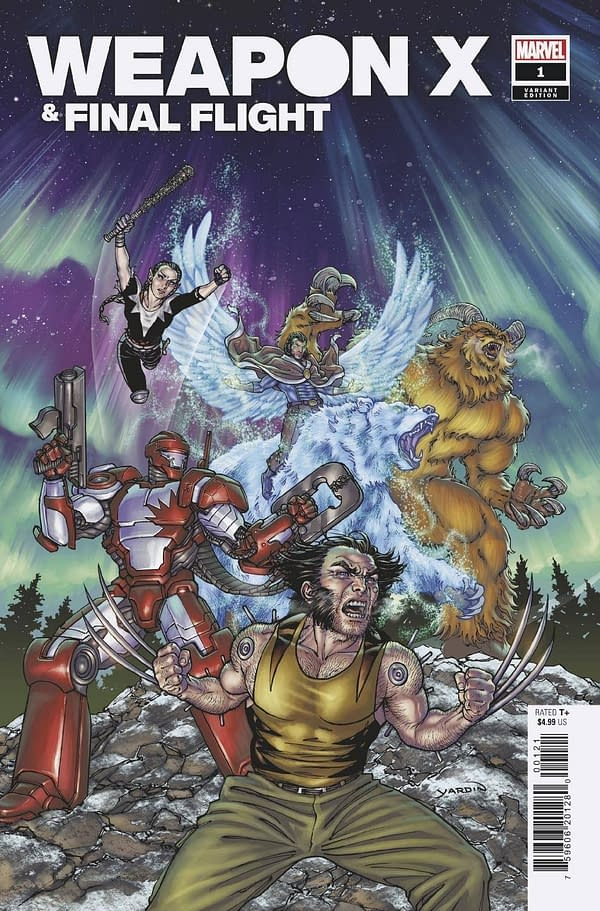 Cover image for HEROES REBORN WEAPON X AND FINAL FLIGHT #1 YARDIN VAR