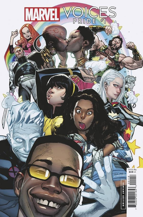 Cover image for MARVELS VOICES PRIDE #1 COIPEL VAR