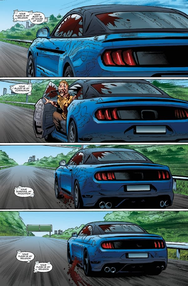 Interior preview page from EXTREME CARNAGE ALPHA #1