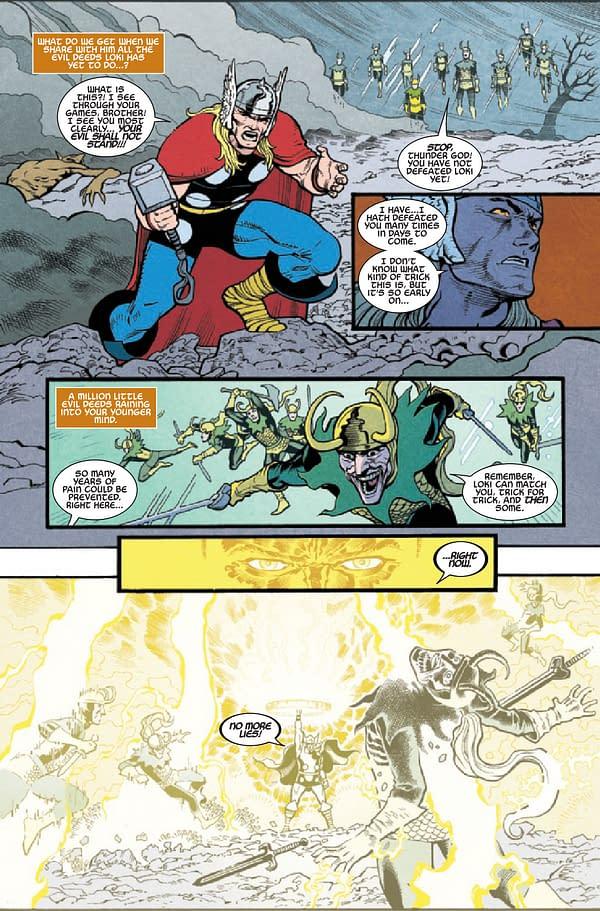 Interior preview page from THOR ANNUAL #1 INFD