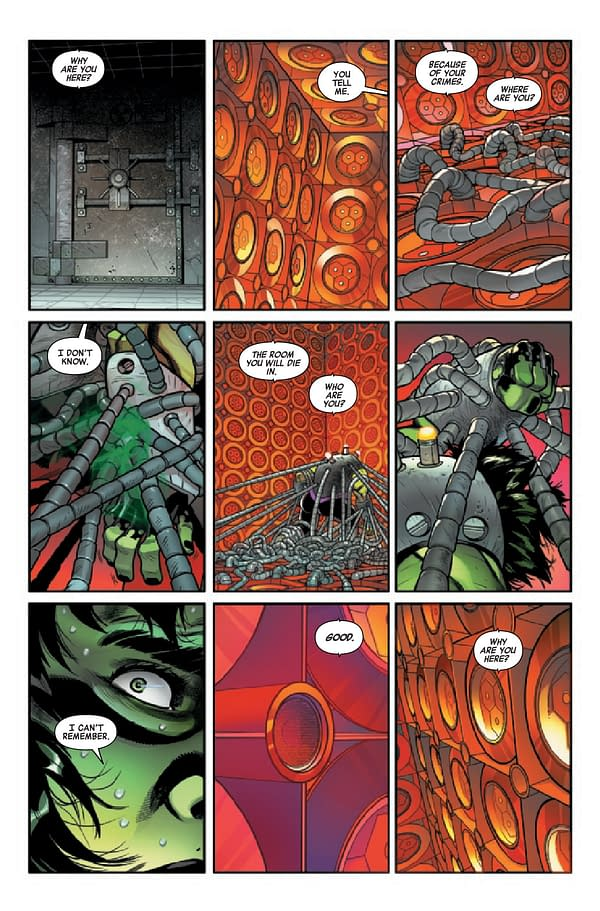Interior preview page from AVENGERS #46
