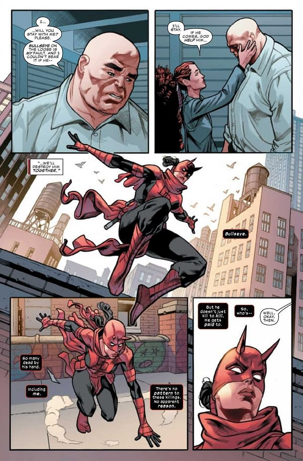 Interior preview page from DAREDEVIL #32