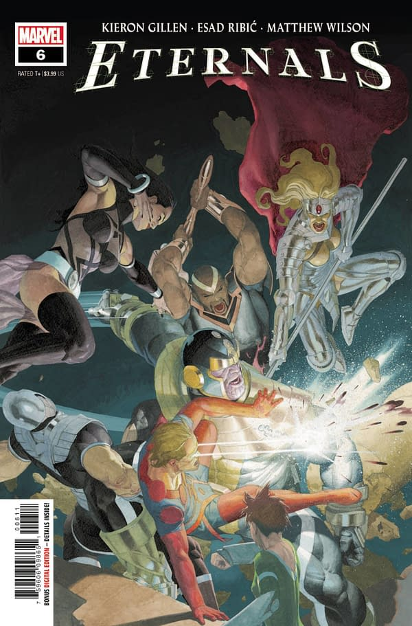 Cover image for ETERNALS #6