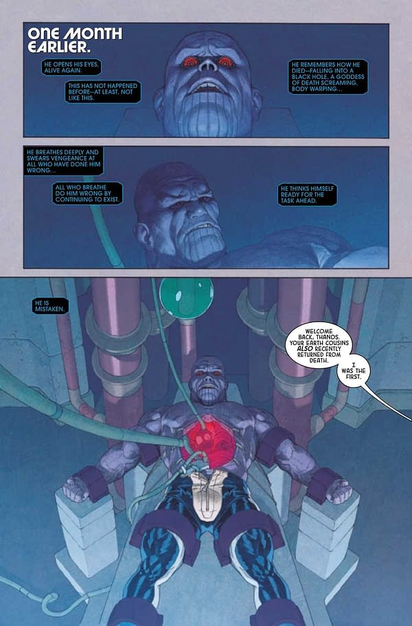 Interior preview page from ETERNALS #6