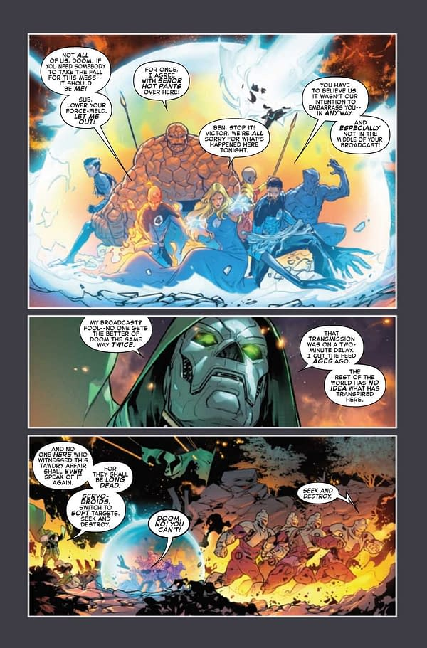 Interior preview page from FANTASTIC FOUR #34
