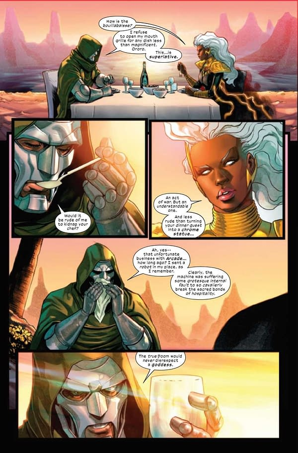 Interior preview page from SWORD #7