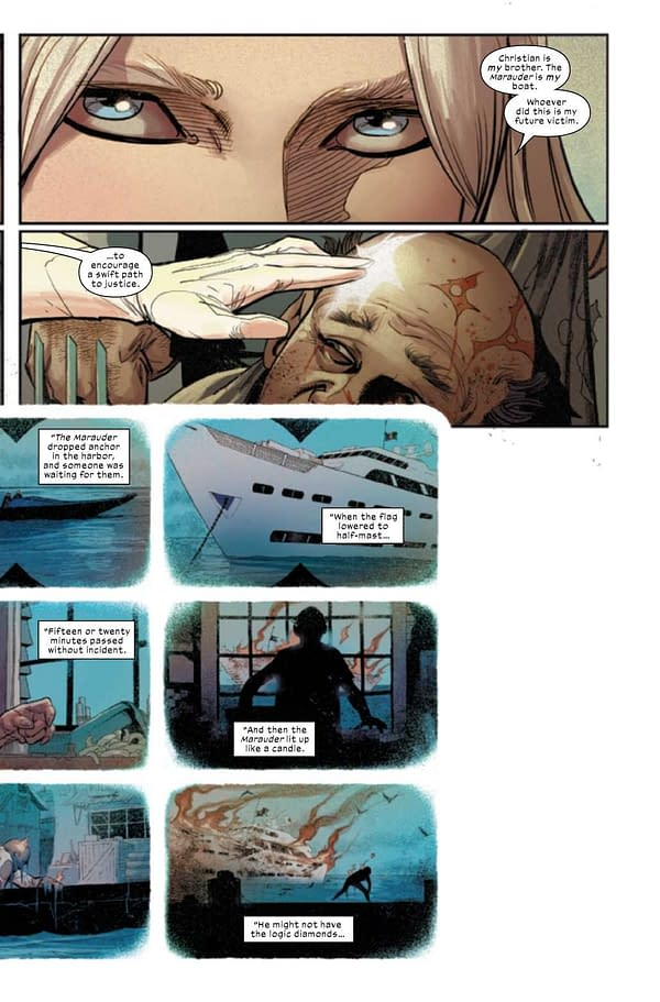 Interior preview page from WOLVERINE #14