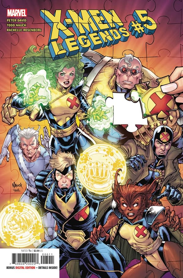 Cover art for X-MEN LEGENDS #5
