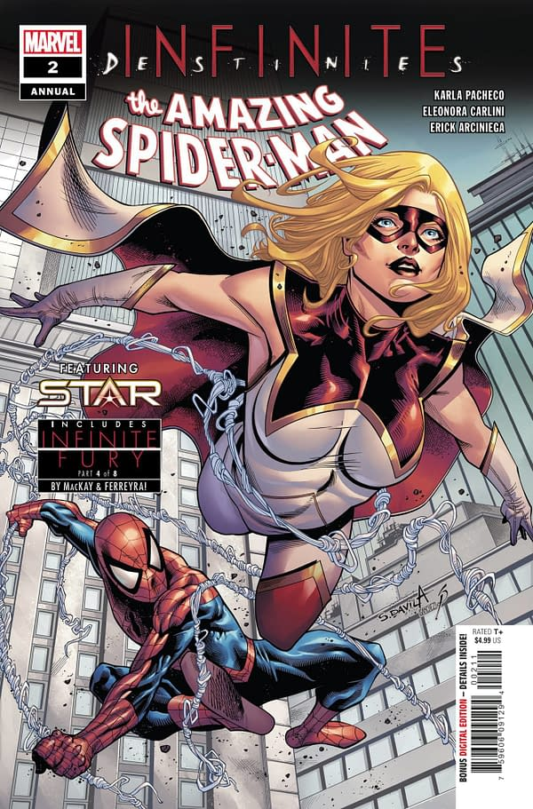 Cover image for AMAZING SPIDER-MAN ANNUAL #2 INFD