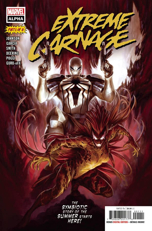 Cover image for EXTREME CARNAGE ALPHA #1