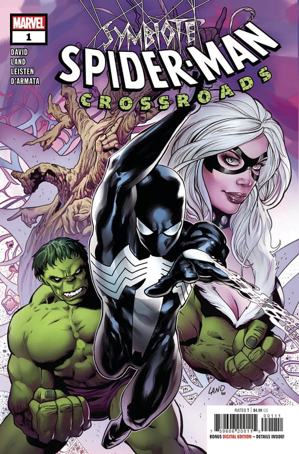 Cover image for SYMBIOTE SPIDER-MAN CROSSROADS #1 (OF 5)