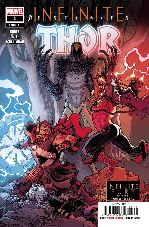 Cover image for THOR ANNUAL #1 INFD