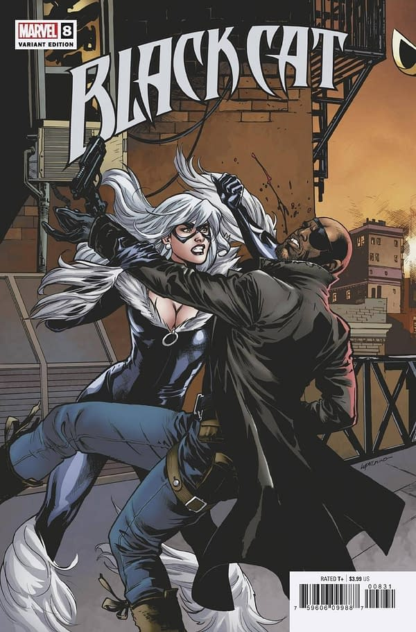Cover image for BLACK CAT #8 LUPACCHINO CONNECTING VAR