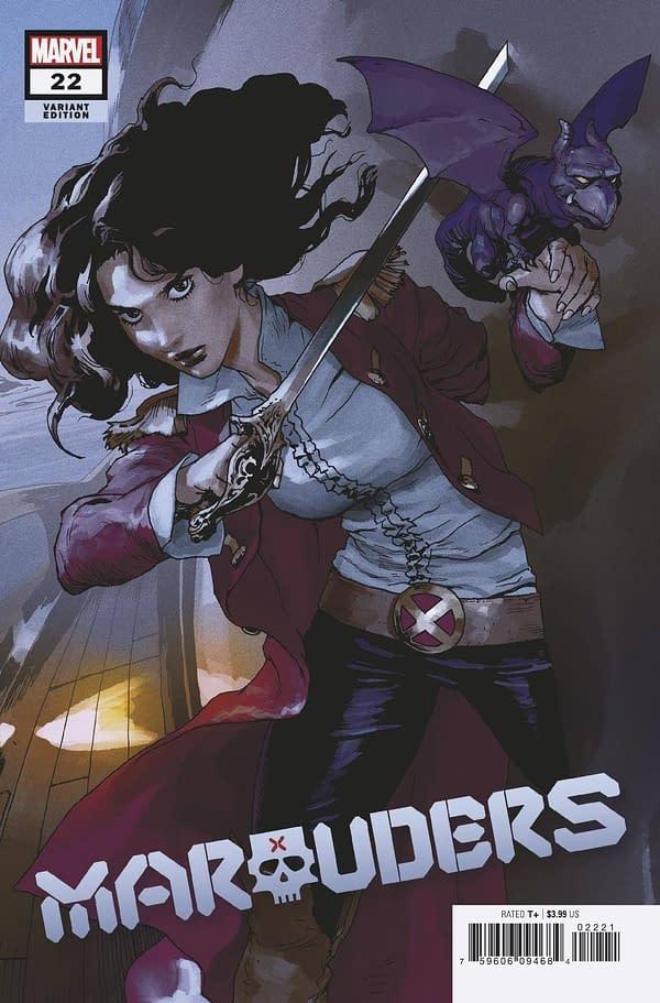 Cover image for MARAUDERS #22 PAREL VAR