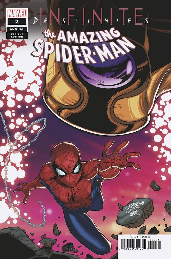Cover image for AMAZING SPIDER-MAN ANNUAL #2 RON LIM CONNECTING VAR INFD
