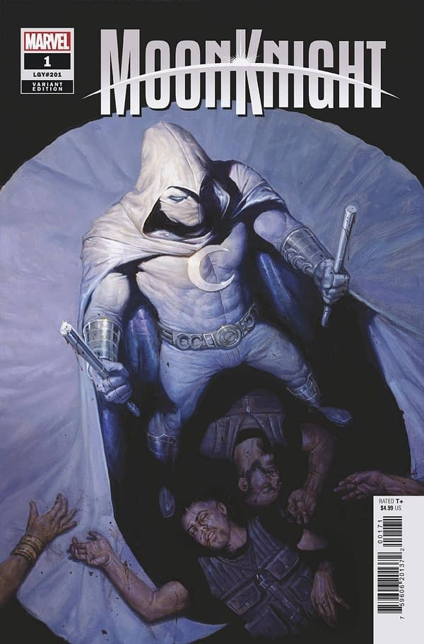 Cover image for MOON KNIGHT #1 GIST VAR