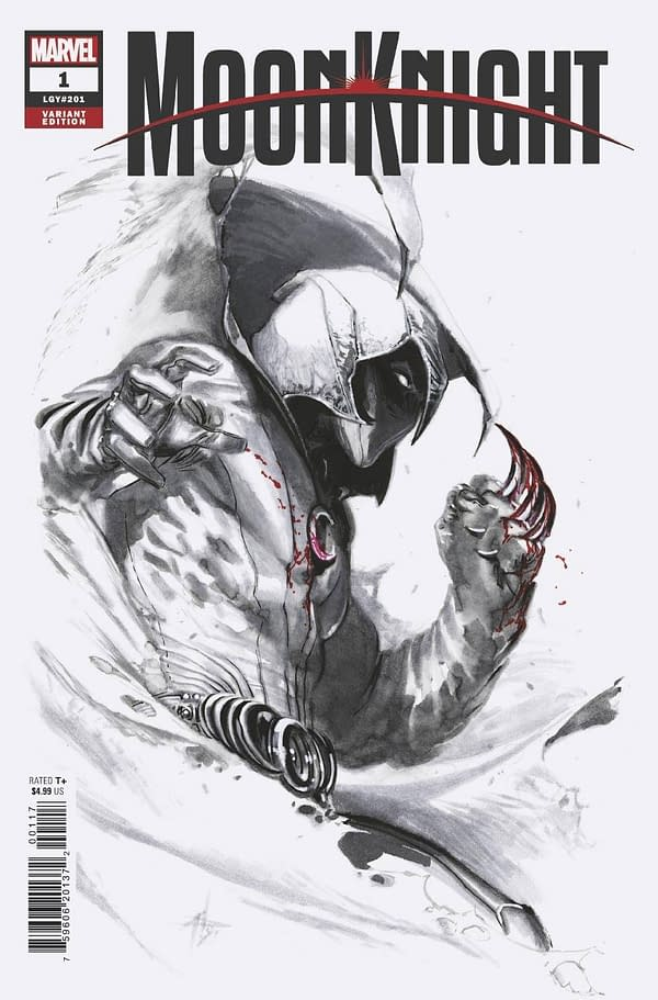 Cover image for MOON KNIGHT #1 DELLOTTO VAR