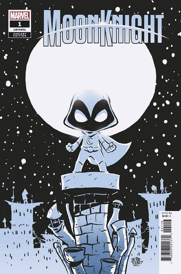 Cover image for MOON KNIGHT #1 YOUNG VAR