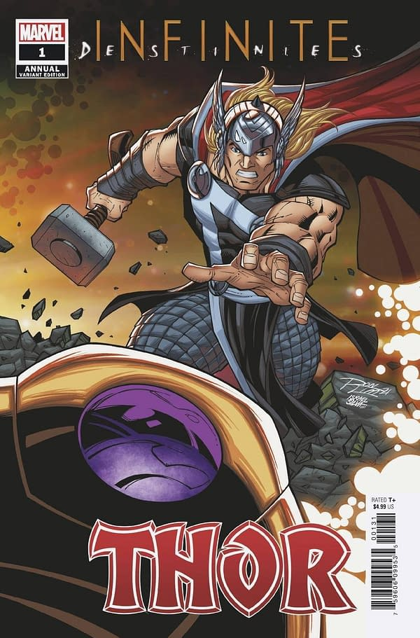 Cover image for THOR ANNUAL #1 RON LIM CONNECTING VAR INFD