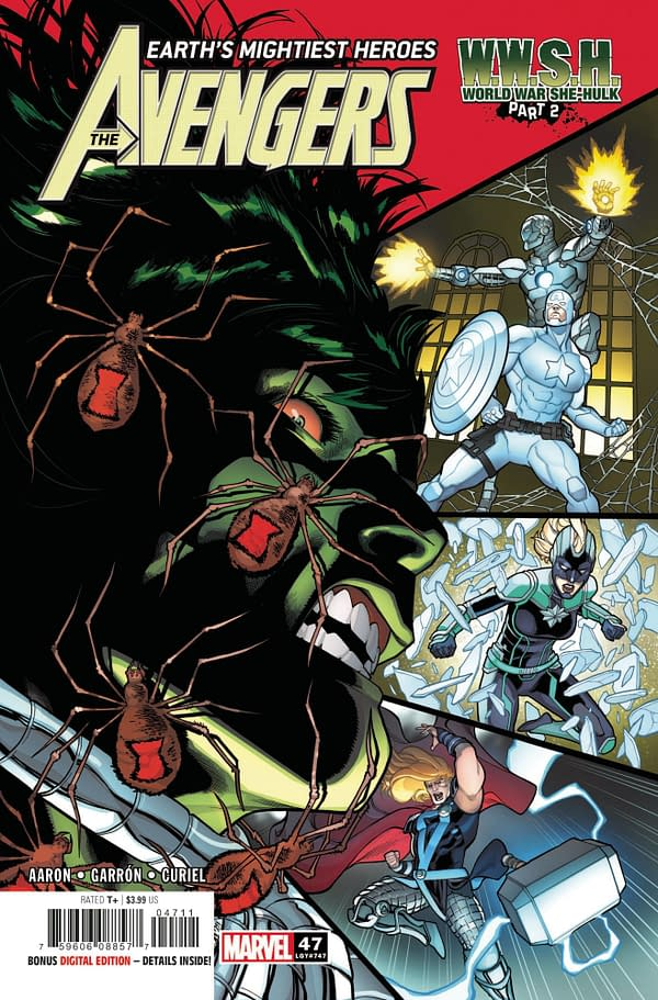 Cover image for AVENGERS #47
