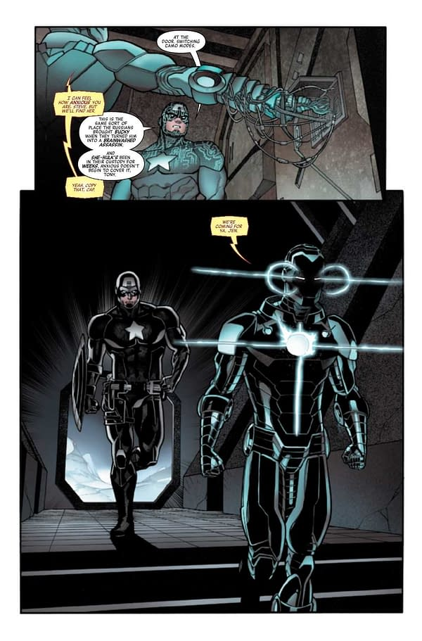 Interior preview page from AVENGERS #47