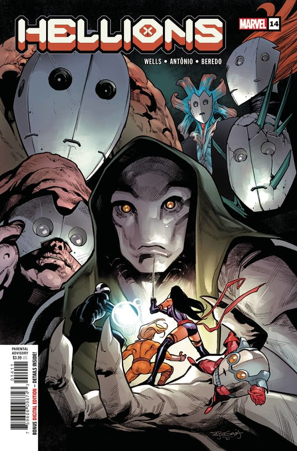 Cover image for HELLIONS #14