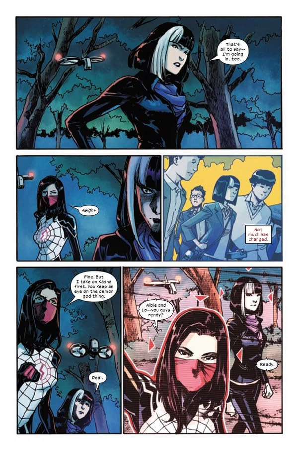 Interior preview page from SILK #5 (OF 5)