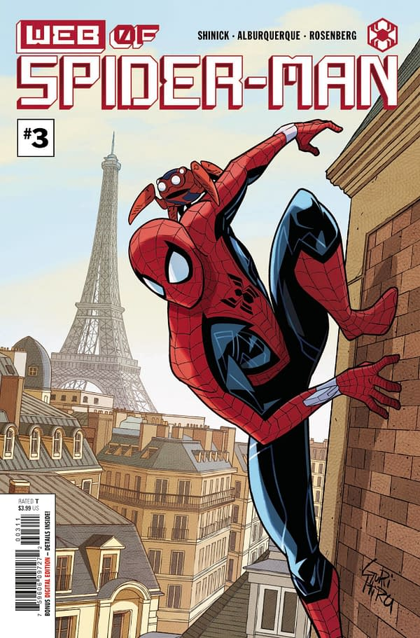Cover image for WEB OF SPIDER-MAN #3 (OF 5)