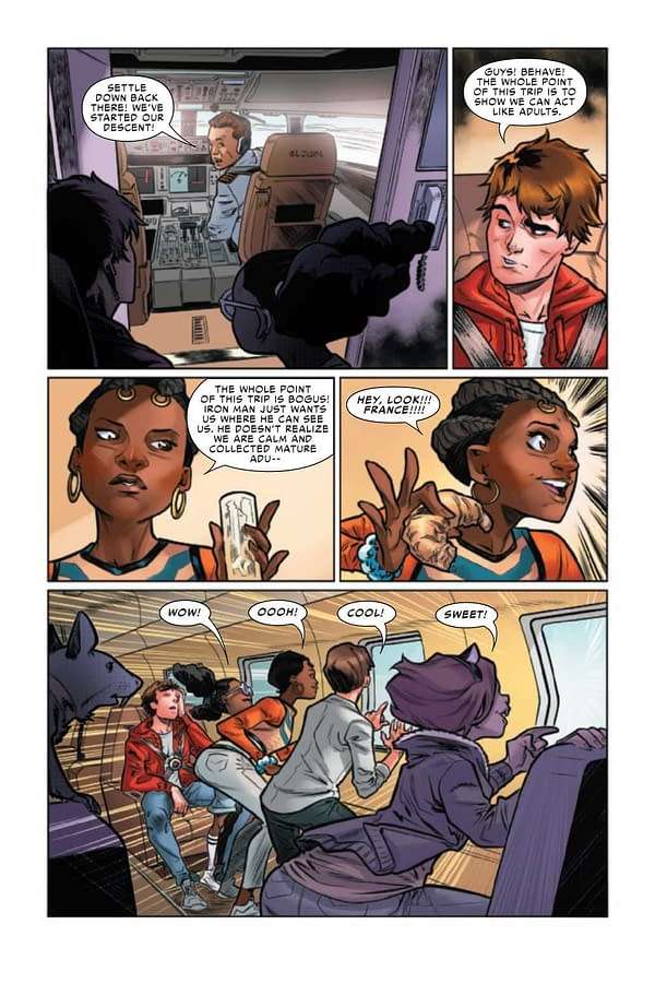 Interior preview page from WEB OF SPIDER-MAN #3 (OF 5)
