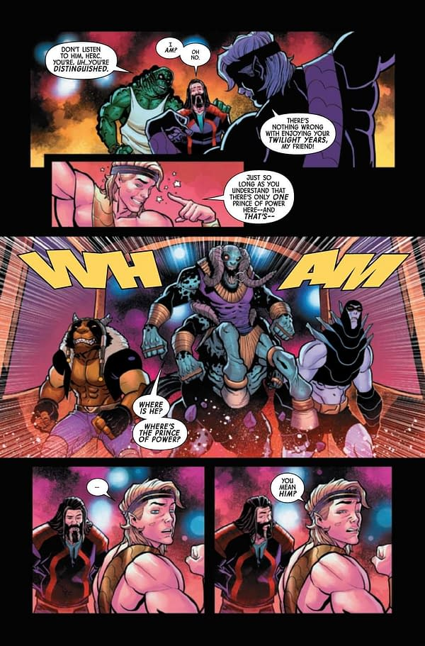 Interior preview page from GUARDIANS OF THE GALAXY ANNUAL #1 INFD