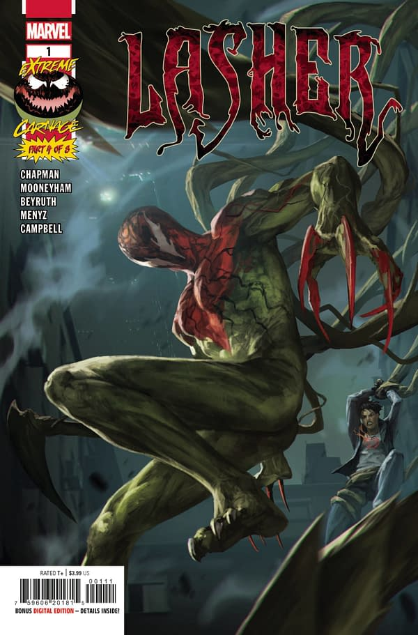 Cover image for EXTREME CARNAGE LASHER #1