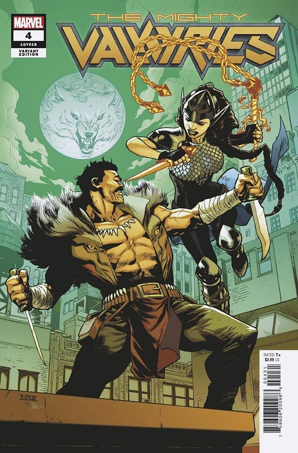 Cover image for MIGHTY VALKYRIES #4 (OF 5) ASRAR VAR