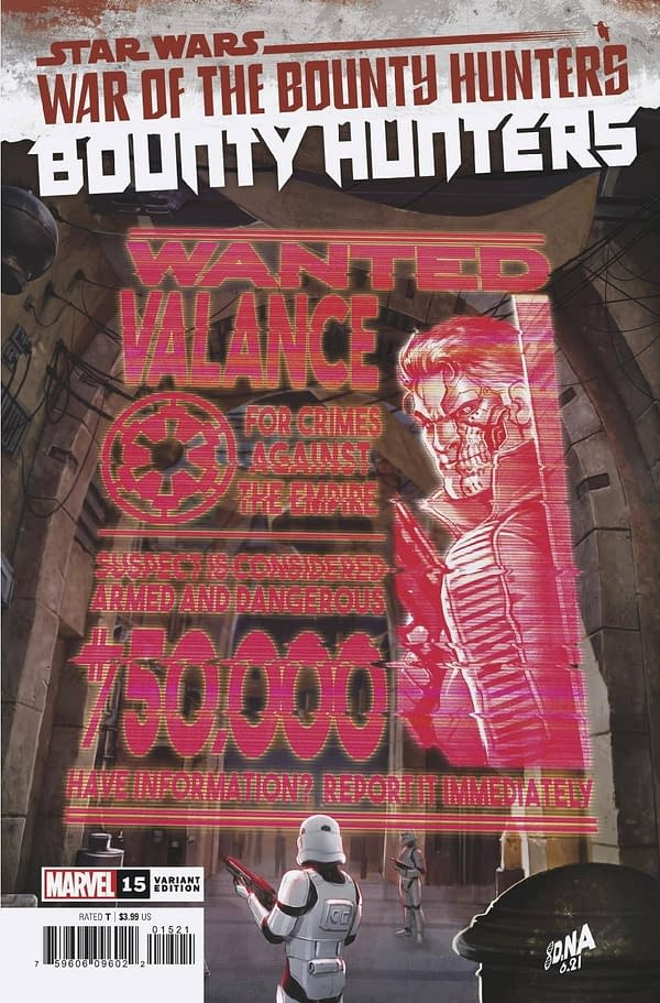 Cover image for STAR WARS BOUNTY HUNTERS #15 WANTED POSTER VAR WOBH