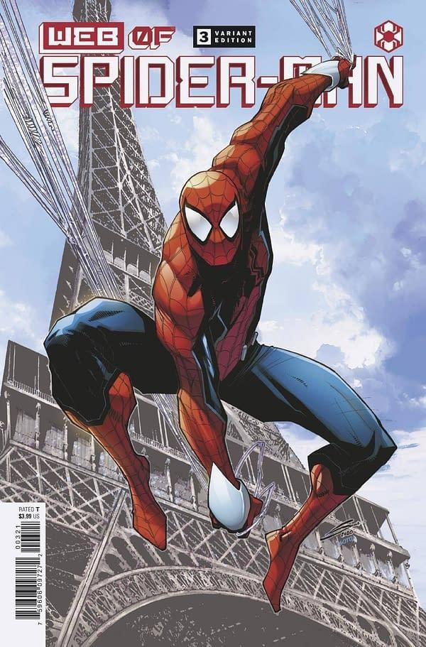 Cover image for WEB OF SPIDER-MAN #3 (OF 5) SANDOVAL VAR