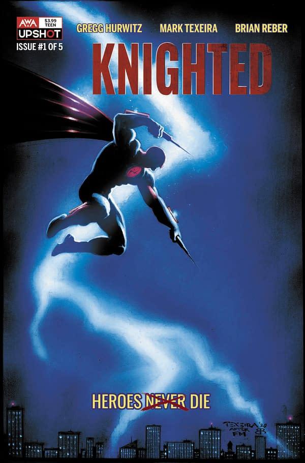 Gregg Hurwitz & Mark Texeira's New Comic, Knighted, From AWA Studios